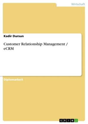 Customer Relationship Management / eCRM