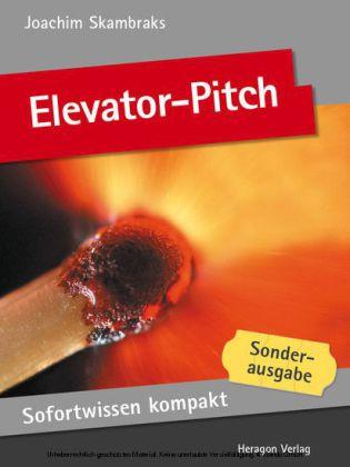 Sofortwissen kompakt: Elevator-Pitch
