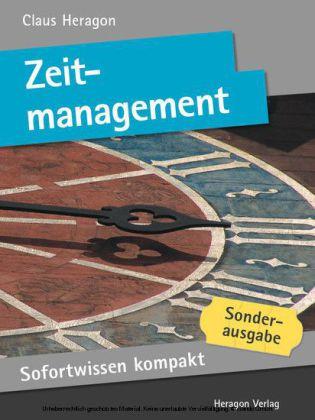 Sofortwissen kompakt: Zeitmanagement