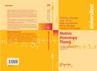 Motivic Homotopy Theory