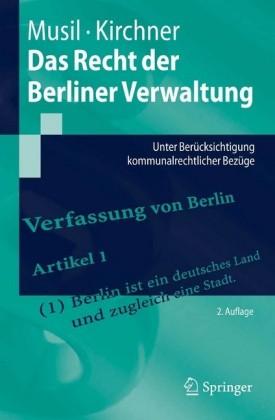 Das Recht der Berliner Verwaltung