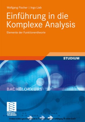 Einführung in die Komplexe Analysis