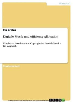 Digitale Musik und effiziente Allokation