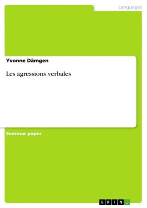 Les agressions verbales