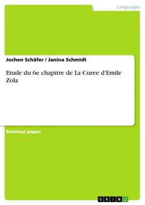 Etude du 6e chapitre de La Curee d'Emile Zola