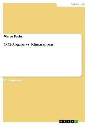 CO2-Abgabe vs. Klimarappen