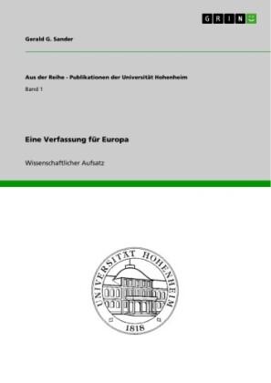Eine Verfassung für Europa