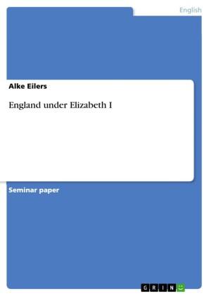 England under Elizabeth I