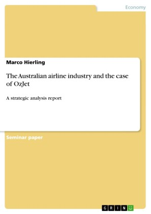 The Australian airline industry and the case of OzJet