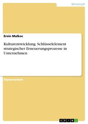 Kulturentwicklung. Schlüsselelement strategischer Erneuerungsprozesse in Unternehmen