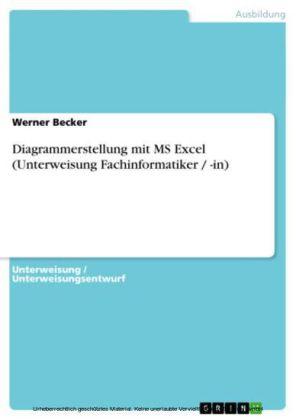 Diagrammerstellung mit MS Excel (Unterweisung Fachinformatiker / -in)