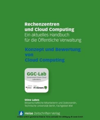 Rechenzentren und Cloud Computing: Konzept und Bewertung von Cloud Computing