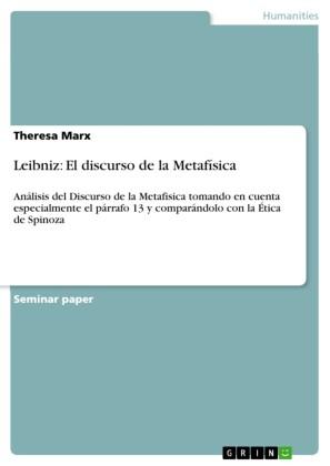Leibniz: El discurso de la Metafísica