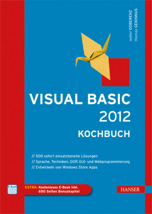 Visual Basic 2012 - Kochbuch