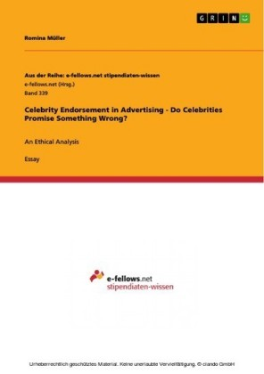 Celebrity Endorsement in Advertising - Do Celebrities Promise Something Wrong?
