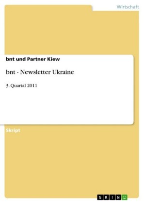 bnt - Newsletter Ukraine
