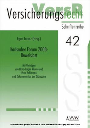 Karlsruher Forum 2008: Beweislast