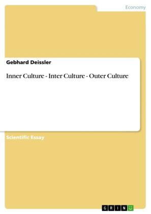 Inner Culture - Inter Culture - Outer Culture
