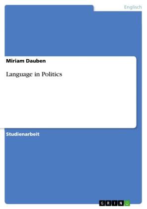 Language in Politics