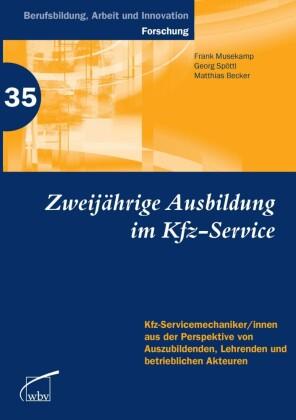 Zweijährige Berufsausbildung im Kfz-Service
