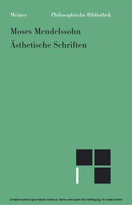Ästhetische Schriften