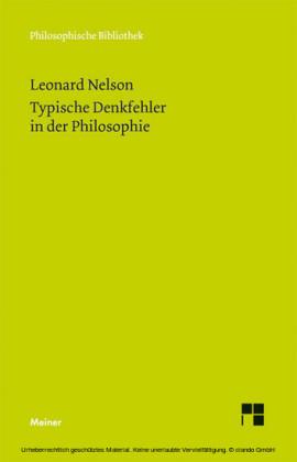 Typische Denkfehler in der Philosophie