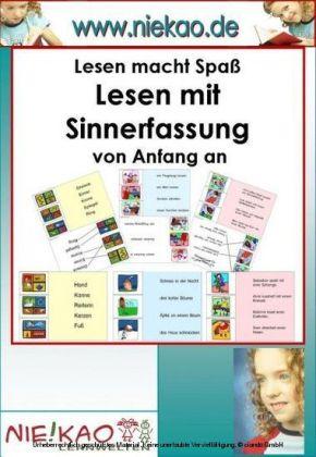 Lesen mit Sinnerfassung von Anfang an - Kartei ab Kl.1