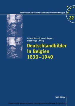 Deutschlandbilder in Belgien 1830-1940