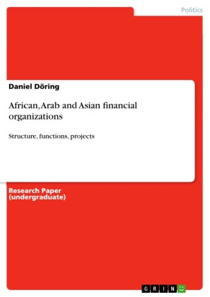 African, Arab and Asian financial organizations