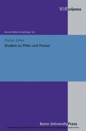 Studien zu Philo und Paulus