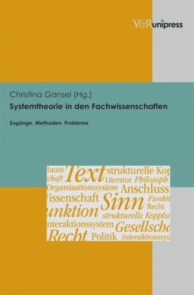 Systemtheorie in den Fachwissenschaften
