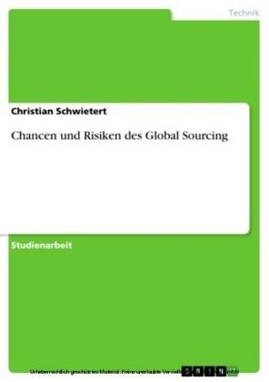 Chancen und Risiken des Global Sourcing