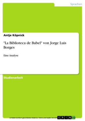 'La Biblioteca de Babel' von Jorge Luis Borges