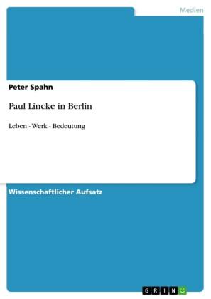 Paul Lincke in Berlin