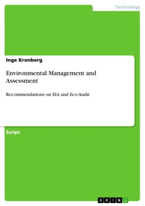 Environmental Management and Assessment