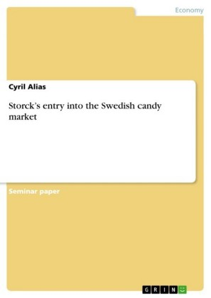 Storck's entry into the Swedish candy market