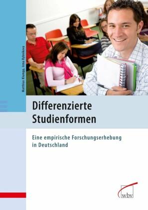 Differenzierte Studienformen