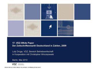 Der Zeitschriftenmarkt Deutschland in Zahlen, 2009