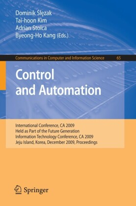 Control and Automation. Communications in Computer and Information Science, Vol 65