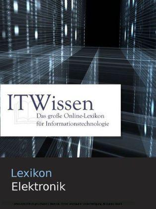 Lexikon Elektronik