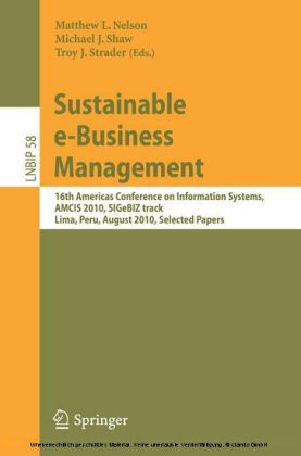 Sustainable e-Business Management