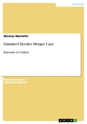 Daimler-Chrysler Merger Case