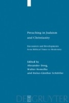 Preaching in Judaism and Christianity