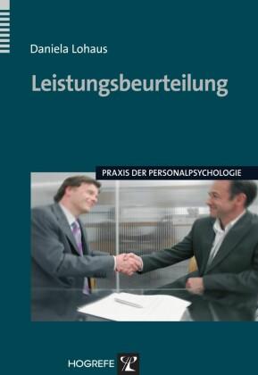 Leistungsbeurteilung. (Praxis der Personalpsychologie)