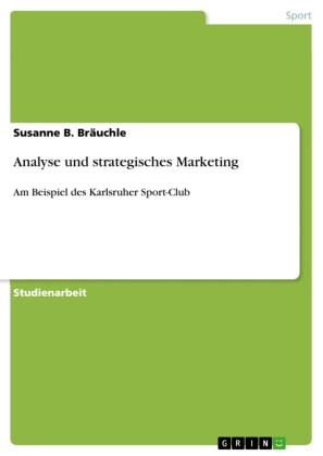Analyse und strategisches Marketing