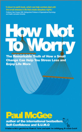How Not To Worry,