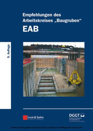 Empfehlungen des Arbeitskreises 'Baugruben' (EAB)