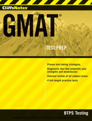 CliffsNotes GMAT-MAJ