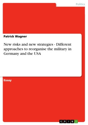 New risks and new strategies - Different approaches to reorganise the military in Germany and the USA