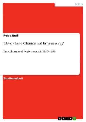 Ulivo - Eine Chance auf Erneuerung?